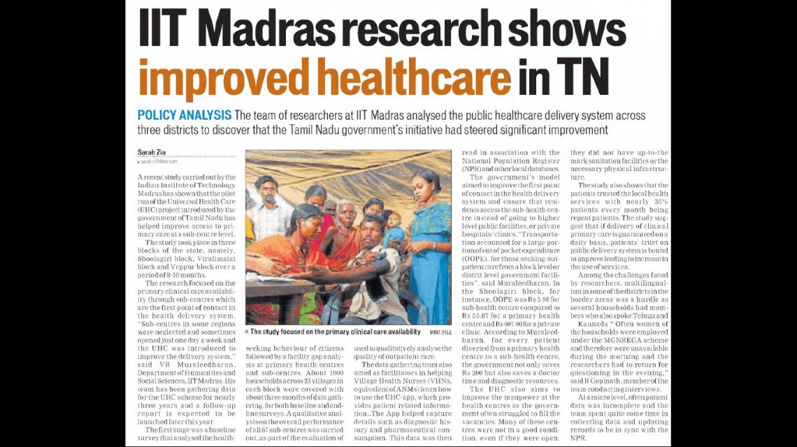 Hindustan Times – Education – 9th May 2018
